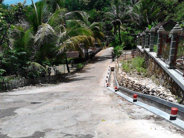 Salah Satu Jalan Menurun Menuju Goa Gong, Pacitan