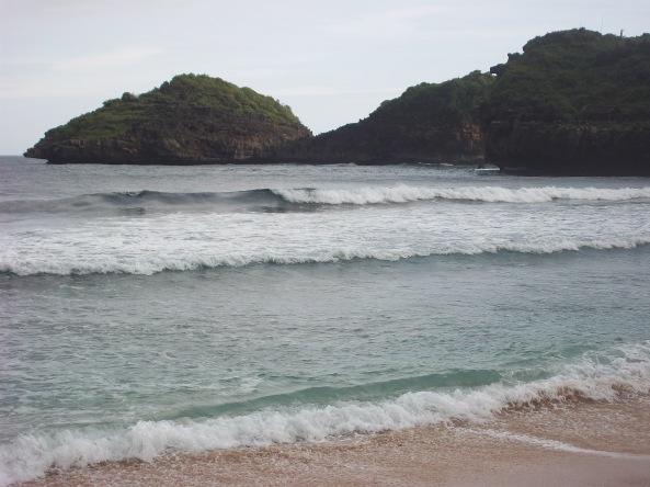 Salah Satu Sisi Pantai Srau