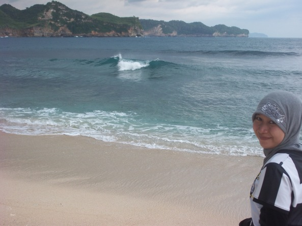 Beach of Surfing in Pacitan