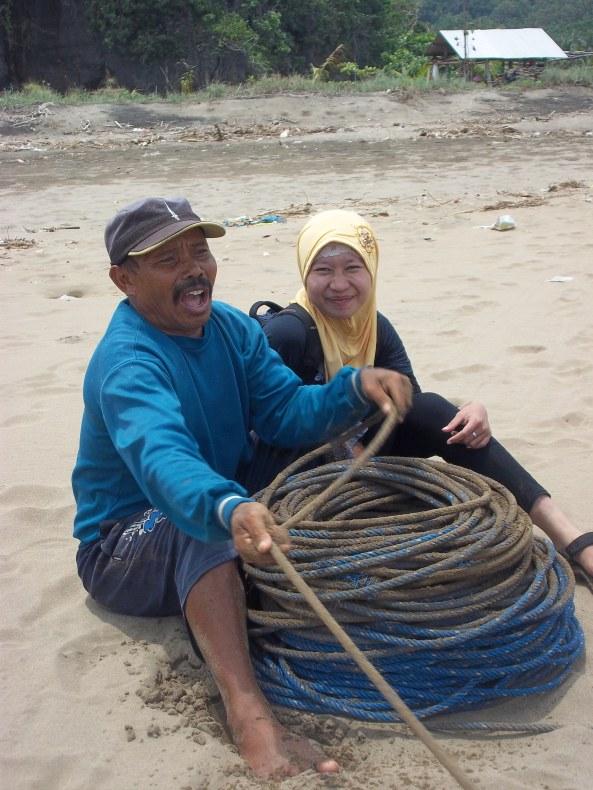 Poto Bareng Bos Nelayan ;)