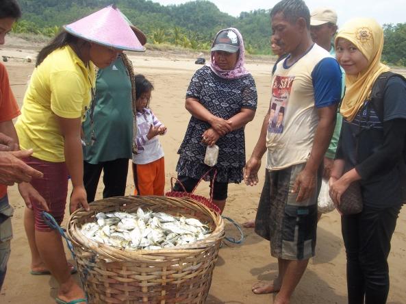 Sekeranjang Ikan yang dihargai 100000 rupiah :(