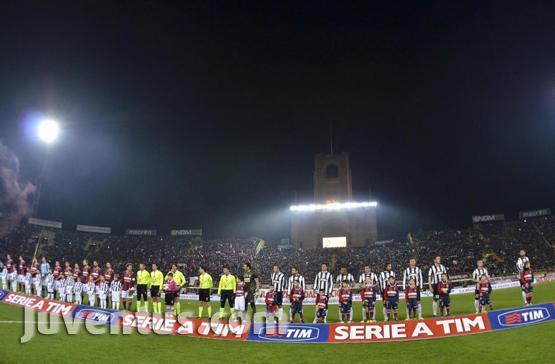 Sebelum Kick Off di Renato Dall' Ara
