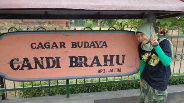 Welcome in Candi Brahu