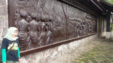 Relief Rlief Dinding, Kisah Perjuangan Pasukan Majapahit