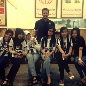 Bersama Kapten JCI Chapter Surabaya