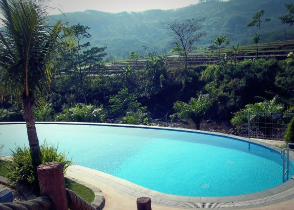 Kolam Untuk Pengunjung Dewasa. Puji Syukur, Panorama Indah Masih diberikan olehNya :)