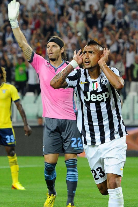 Dua Biji Gol Menjadikan Vidal Top Skorer Juventus Sementara Bersama Dengan Carlos Tevez