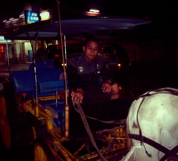 Delman. Transportasi tradisional yang bisa digunakan untuk menyusuri modernitas di jalanan Malioboro
