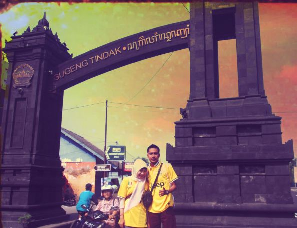 We're in Yogyakarta :D